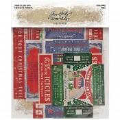 Tim Holtz Idea-ology: Vignette Box Tops, Christmas TH94089