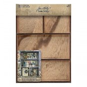 Tim Holtz Idea-ology: Vignette Divided Box TH93794