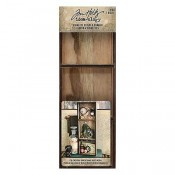 Tim Holtz Idea-ology: Vignette Divided Drawer TH93793