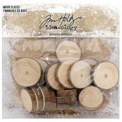 Tim Holtz Idea-ology: Wood Slices TH93745