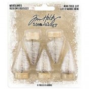 Tim Holtz Idea-ology: Woodland Mini Tree Lot - TH93758