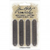 Tim Holtz Idea-ology: Word Plaques, Christmas 2021 TH94203