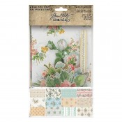 Tim Holtz Idea-ology: Worn Wallpaper Scraps TH94122