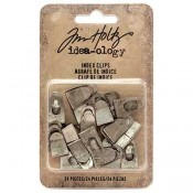 Tim Holtz Idea-ology Index Clips - TH93574