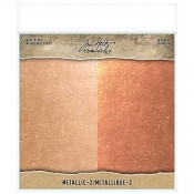 Tim Holtz Idea-ology Metallic Kraft Stock 2 TH93780