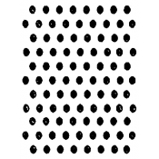 Tim Holtz Wood Mounted Stamp - Mini Dots M3-1300
