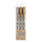 Tim Holtz Distress Crayons: Metallics - TDBK58700