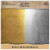 Tim Holtz Idea-ology Metallic Kraft Stock TH93586