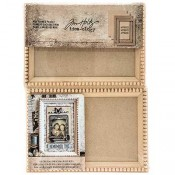 Tim Holtz Idea-ology Mini Framed Panels - TH93582