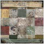 Tim Holtz Idea-ology Mini Paper Stash: Departed TH94054