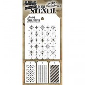 Tim Holtz Mini Layering Stencil Set #31 - MST031