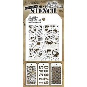 Tim Holtz Mini Layering Stencil Set #2 - MST002