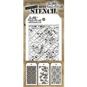 Tim Holtz Mini Layering Stencil Set #4 - MST004
