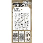 Tim Holtz Mini Layering Stencil Set #5 - MTS005