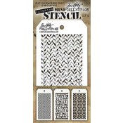 Tim Holtz Mini Layering Stencil Set #13 - MST013
