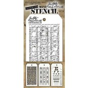 Tim Holtz Mini Layering Stencil Set #16 - MTS016