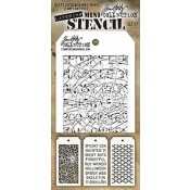 Tim Holtz Mini Layering Stencil Set #17 - MST017
