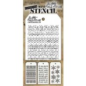 Tim Holtz Mini Layering Stencil Set #18 - MTS018