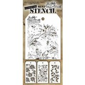 Tim Holtz Mini Layering Stencil Set #19 - MST019