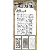 Tim Holtz Mini Layering Stencil Set #20 - MTS020