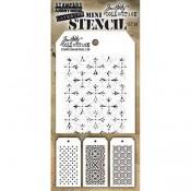 Tim Holtz Mini Layering Stencil Set #30 - MST030