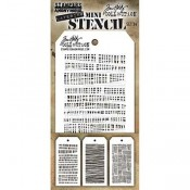Tim Holtz Mini Layering Stencil Set #34 - MST034
