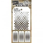 Tim Holtz Mini Layering Stencil Set #39: MST039