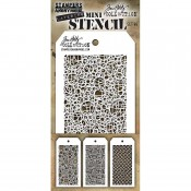 Tim Holtz Mini Layering Stencil Set #46: MST046