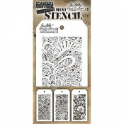 Tim Holtz Mini Layering Stencil Set #47: MST047