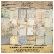 Tim Holtz Idea-ology Memoranda Paper Stash - TH93550
