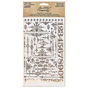 Tim Holtz Idea-ology Remnant Rubs: Gilded Accents - TH93287