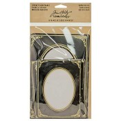 Tim Holtz Idea-ology Cabinet Card Frames: Sophisticate - TH93288