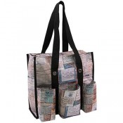 Tim Holtz StorageStudios Documented Shoulder Tote - CH93802
