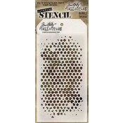 Tim Holtz Layering Stencil - Bubble THS002