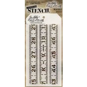 Tim Holtz Layering Stencil - Measured THS012