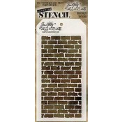 Tim Holtz Layering Stencil - Bricked THS038