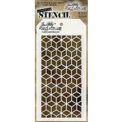 Tim Holtz Layering Stencil - Blocks THS059