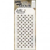 Tim Holtz Layering Stencil - Crossed THS090