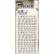 Tim Holtz Layering Stencil - Dashes THS101