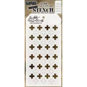 Tim Holtz Layering Stencil: Shifter Plus THS122