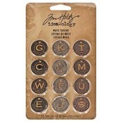 Tim Holtz Idea-ology Muse Tokens - TH92676
