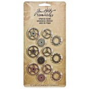 Tim Holtz Idea-ology Sprocket Gears - TH92691
