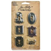 Tim Holtz Idea-ology Keyholes - TH92718