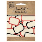 Tim Holtz Adhesive Backed Vial Labels TH92993
