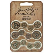 Tim Holtz Idea-ology: Mini Gears - TH93012