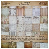 Tim Holtz Idea-ology Paper Stash: French Industrial - TH93052