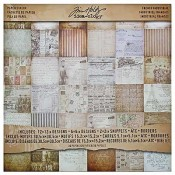 Tim Holtz Paper Stash: French Industrial TH93052