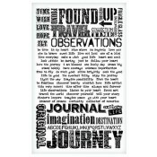 Tim Holtz Idea-ology Remnant Rubs: Words - TH93055