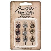 Tim Holtz Idea-ology Ring Fasteners - TH93060
