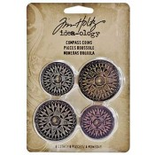 Tim Holtz Idea-ology Compass Coins - TH93061